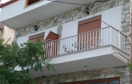 Anna Beach apartmani Nea Roda leto 2019