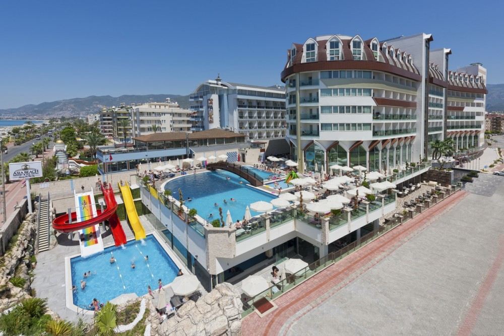 Asia Beach Resort & Spa 5* Alanya leto