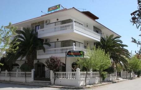 Dionisos 1 apartmani Grčka leto 2016