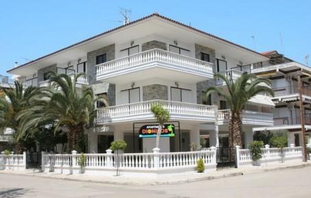 Dionisos 2 apartmani Grčka leto 2019