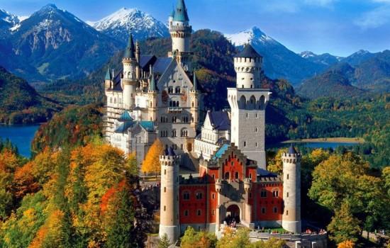 Dvorci Bavarske 2019