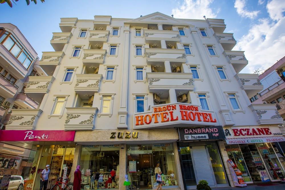 Ergun Hotel 3* Alanya leto