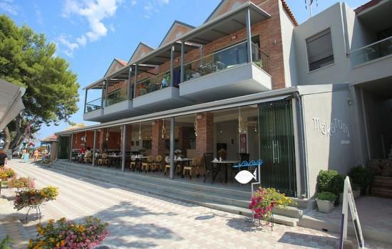 Flegra Beach Boutique Apartmanets Pefkohori leto 2020