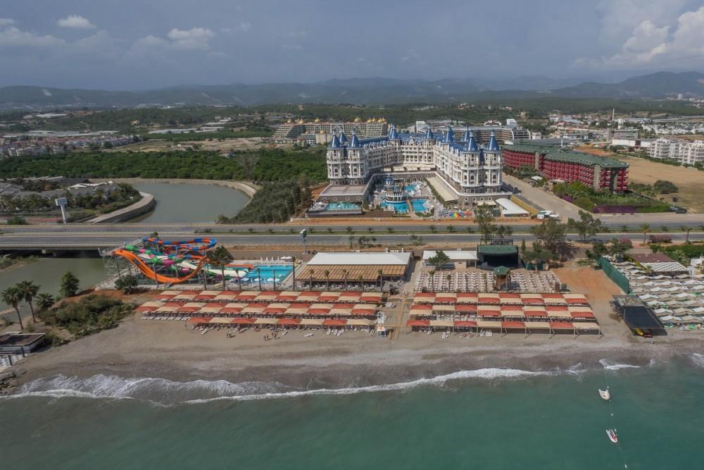 Haydarpasha Palace Hotel 5* Alanya leto