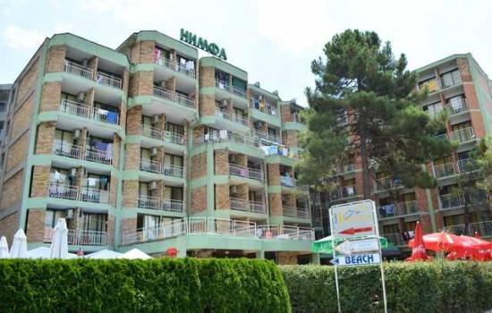 Hotel Nymfa Russalka 2* - Sunčev Breg Bugarska leto 2020