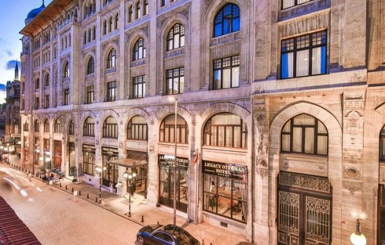 HIT! Istanbul - Legacy Ottoman Hotel 5* LUX - USKRS I 1. Maj 2021