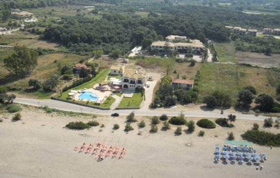 Karavostasi Beach Hotel 3* Jonsko more leto 2020