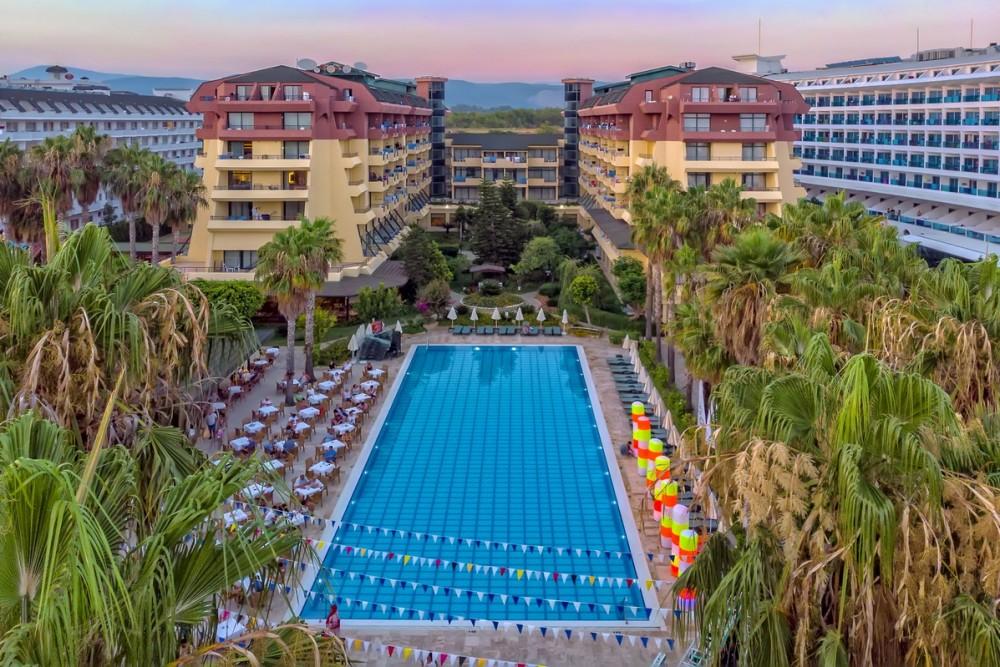 Meryan Hotel 5* Alanya leto