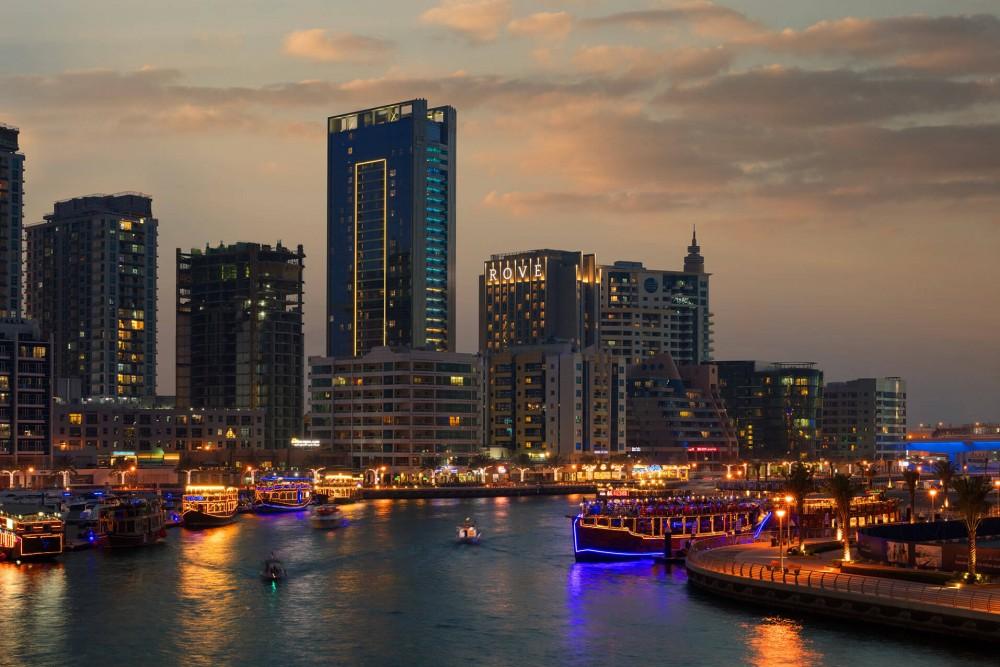 Rove Dubai Marina 3* - Dubai
