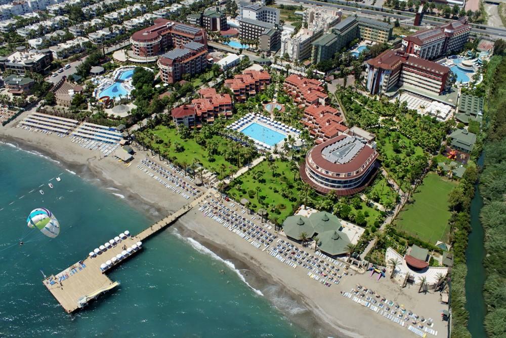 Saphir Hotel 4* Alanya leto