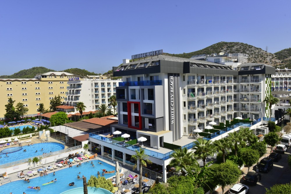 White City Beach Hotel 4* - Adults Only Alanya leto